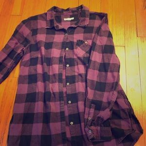 Ruff Hewn Purple Button Down